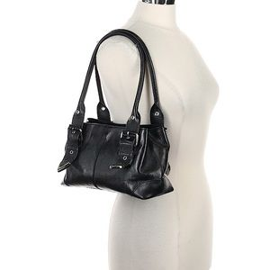 Wilsons Leather | Black Shoulder Bag